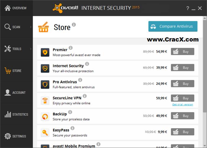 avast antivirus internet security license key