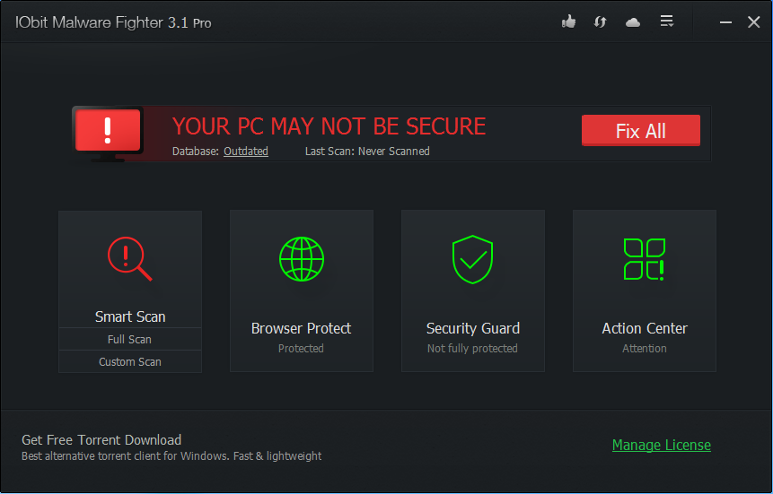 IObit Malware Fighter Pro License Key 3  Patch Full Download
