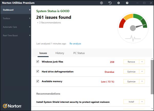 Norton Utilities Premium Full Patch & Serial Key {Tested} Free Download