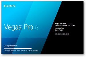 Sony Vegas Pro 13 Crack and Serial number Free Download..