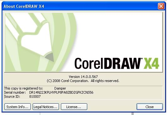 CRACK CorelDraw X4 Keygen