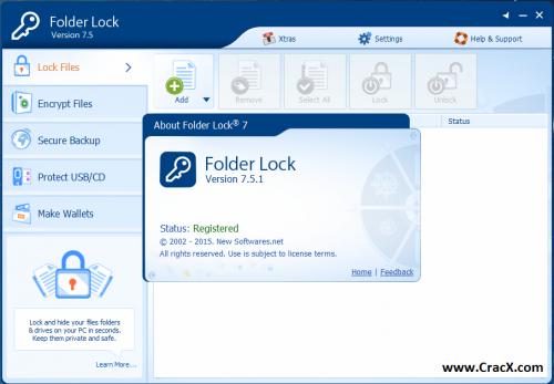 Folder Lock 7 Serial Number and Registration Key 2015 Download
