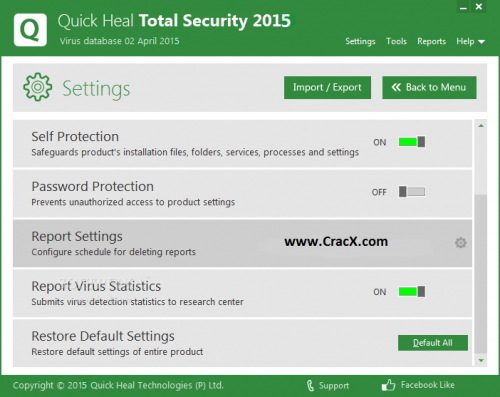 Quick Heal Total Security 2015 Key Generator + Patch Free Full