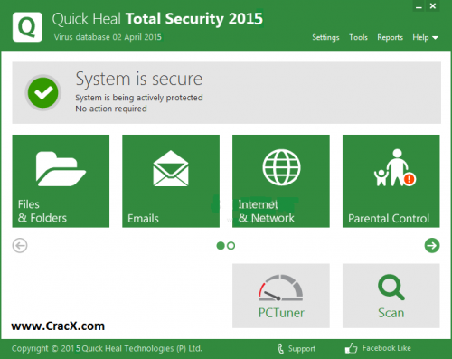 Quick Heal Total Security Key 2015 Crack Free Download