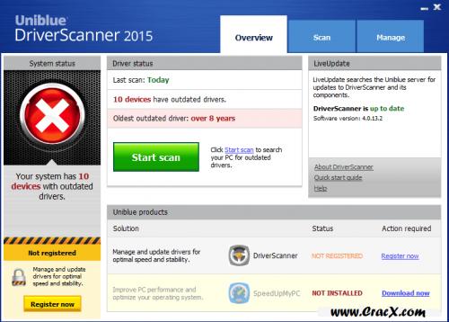 Uniblue Driver Scanner 2015 Keygen + Patch Full Download