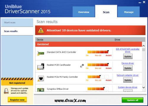 Uniblue Driver Scanner 2015 Registration Key Free Full Download