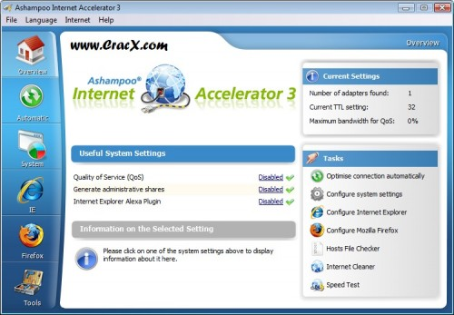 Ashampoo Internet Accelerator 3 License Key Full Download