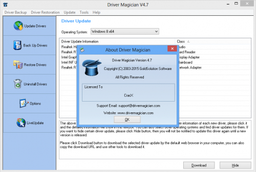 Driver Magician 4.7 Crack + Patch Full Version Free Download