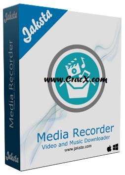 Jaksta Media Recorder 5.0.1.54 Crack + Key Free Download