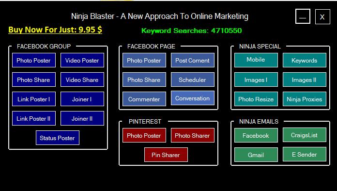 Ninja Blaster 2015 Crack Plus Serial Key Free Download