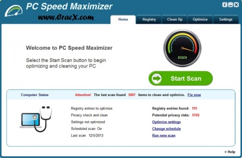 PC Speed Maximizer Crack Serial Keygen Full Free Download