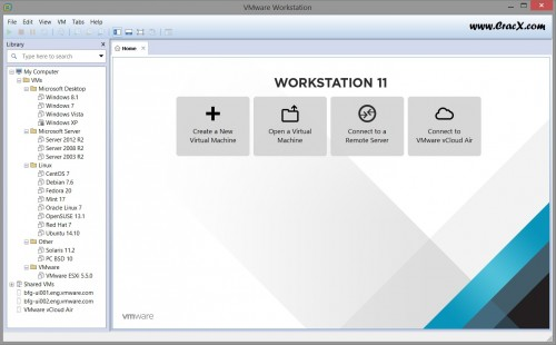 VMware Workstation 11 Key + Activation Crack Full Version