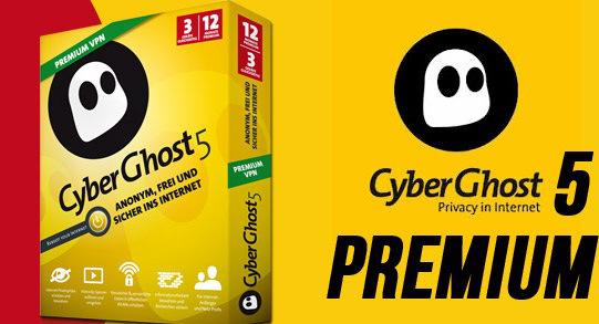 CyberGhost VPN 5 Crack & Premium Serial Key Full Download