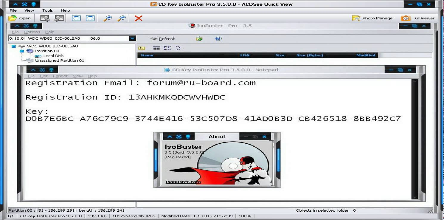 ISOBuster Pro 3.5 Crack with Serial Key Full Free Download