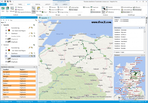 MapInfo 12.5 Full Crack and Patch Latest Free Download