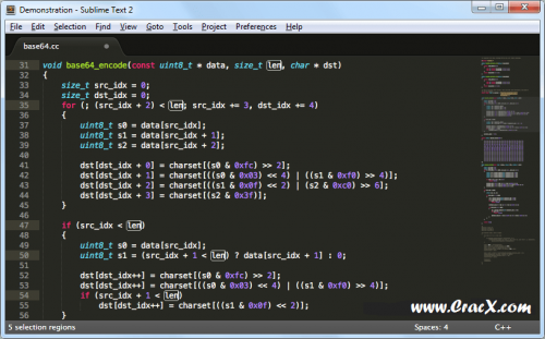 Sublime Text 3 License Key + Patch Full Free Download