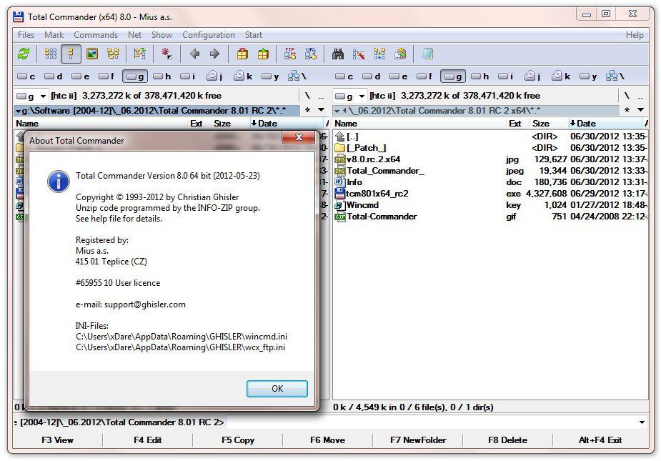 Total Commander 8 Crack Plus Serial Key Full Free Download