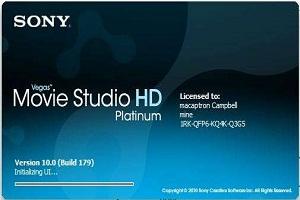 Sony Vegas Movie Studio 11 HD platinum Serial Number Free