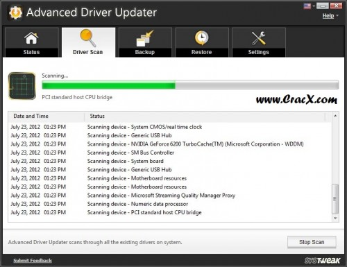 Advanced Driver Updater Pro 2015 Registration Key Free