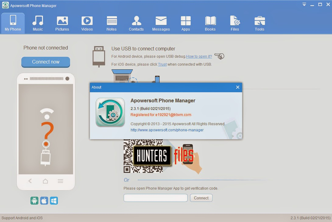 Apowersoft Phone Manager Pro 2.4 Crack Free Download