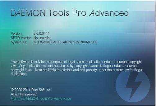 Daemon Tools Pro Advanced 6 Crack Serial Free Download