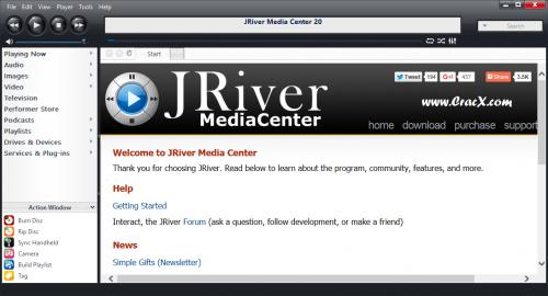 Jriver Media Center 20 Crack + License Key Free Download