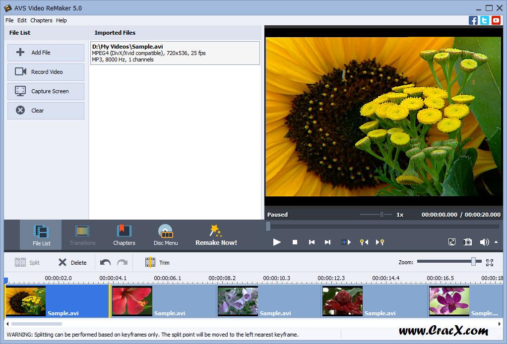 AVS Video ReMaker 5.0 License Key Free Download