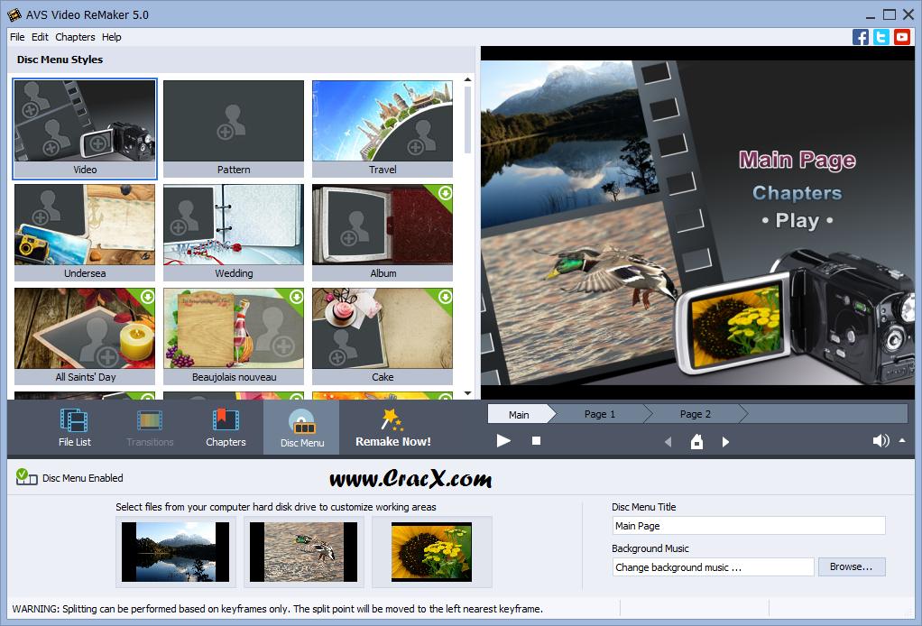 AVS Video ReMaker 5.0 Serial Key Full Free Download