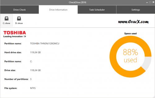Abelssoft CheckDrive Plus Latest Serial Key Free Download