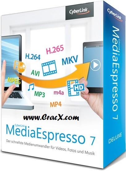 Cyberlink MediaEspresso 7 Crack, Serial Key Free Download