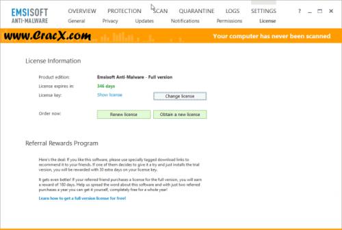 Emsisoft Anti-Malware 10.0 Serial Keys, Crack Free Download