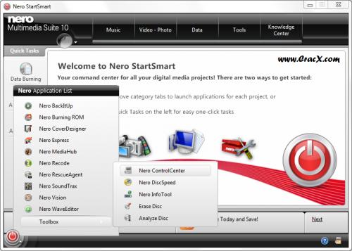Nero Multimedia Suite 10 Crack + Keygen Full Free Download