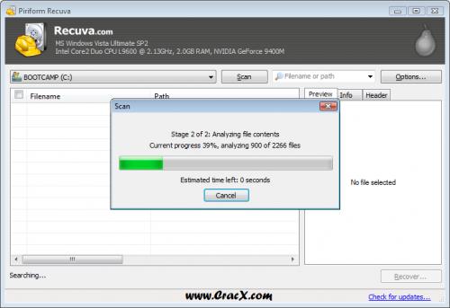 Piriform Recuva 1.52 License Key + Crack Full Free Download