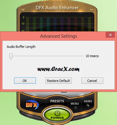 DFX Audio Enhancer Plus 12 Full Crack + Patch Download