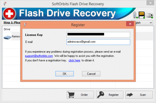 SoftOrbits Flash Drive Recovery License Key Free Download