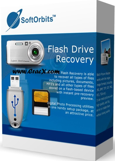 SoftOrbits Flash Drive Recovery Serial Key + Crack Download
