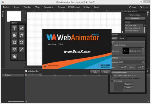 WebAnimator Plus 2.0.4 License Code Keygen Full Free Download