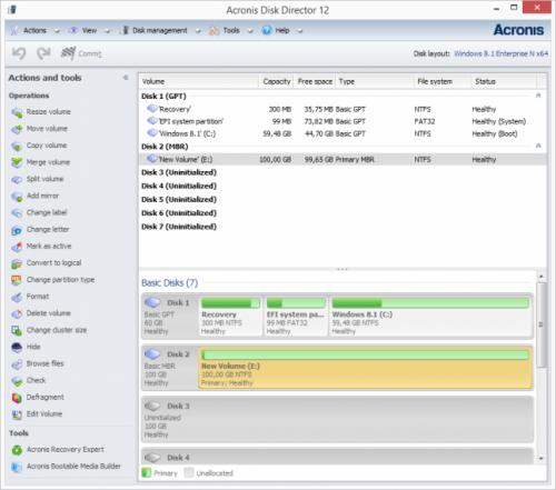 Acronis Disk Director 12 Crack + License Key Free Download