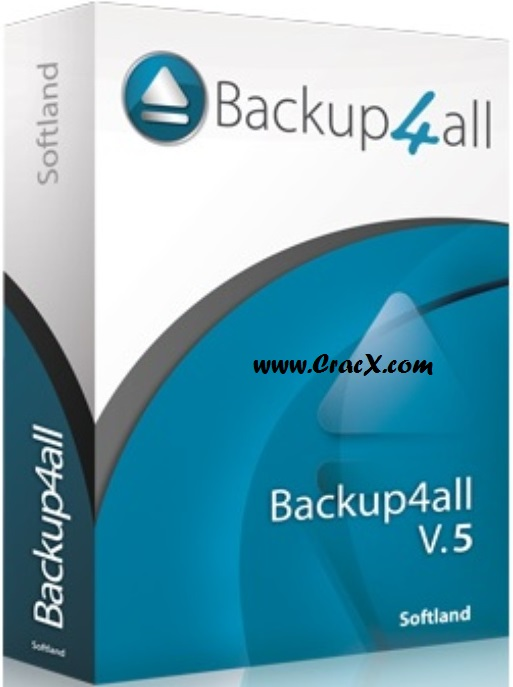 Backup4all Professional 5 Crack + Serial Key Free Download