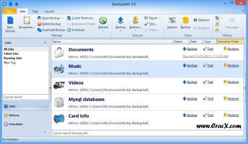Backup4all Professional 5 Serial Key + Patch Free Download