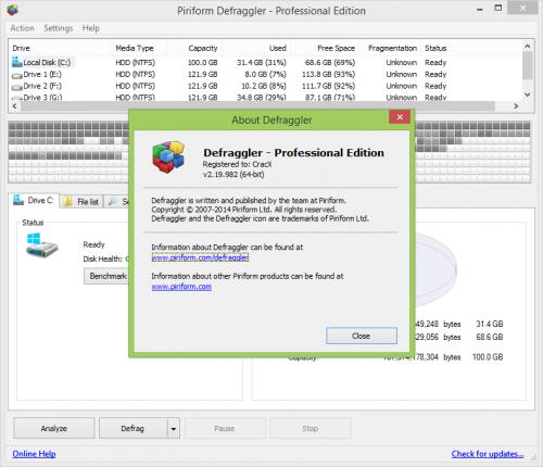Defraggler Pro All Version Crack + Keygen Free Download