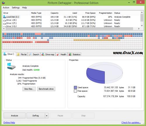 Defraggler Pro Any Version Key + Crack Full Free Download