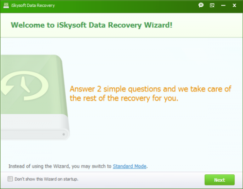 iSkySoft Data Recovery 1.3.1.2 + Registration Code Full Download