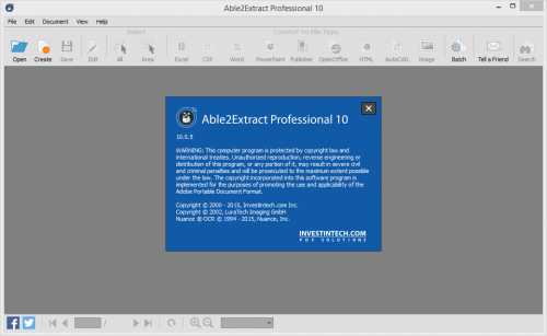 Able2Extract Professional 10.0.5 Patch + Crack Free Download