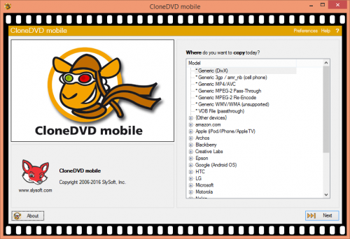 CloneDVD Mobile 1.9.2.0 Serial Key + Patch Free Download