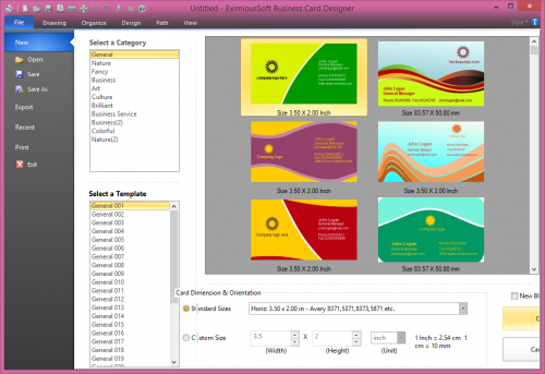 EximiousSoft Business Card Designer 5.08 Full Serial Download