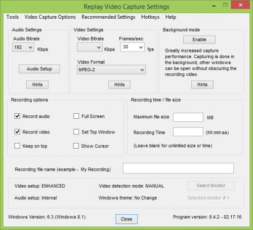 Replay Video Capture 8 Serial Key + Patch Full Free Download