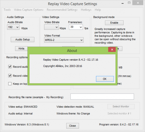 Replay Video Capture 8.4.2 Crack & Keygen Free Full Download