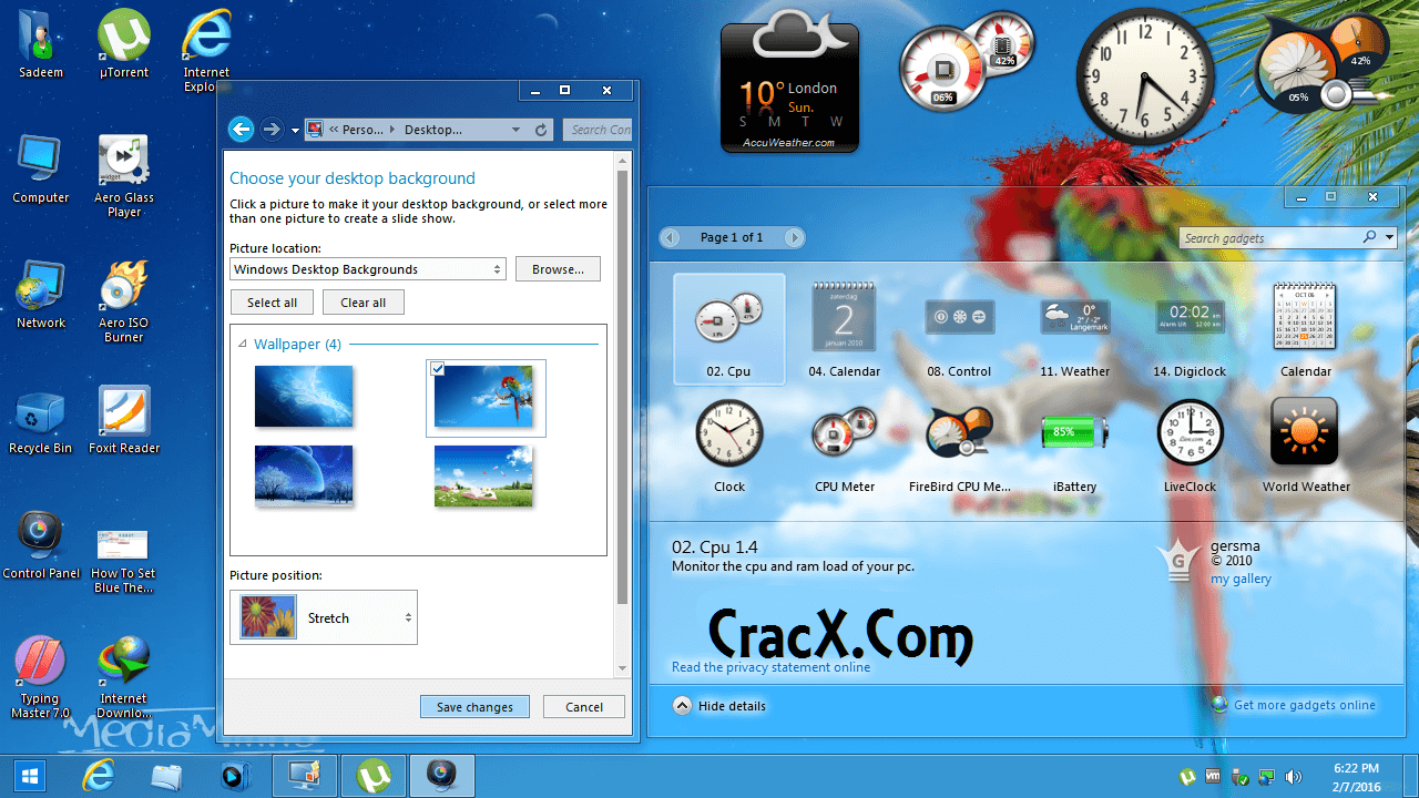 Windows 7 Aero Blue Lite Edition with Crack Iso Download