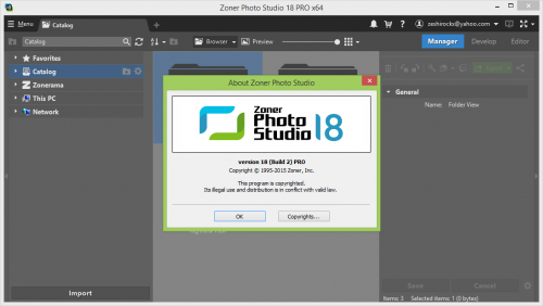 Zoner Photo Studio Pro 18.0 Key Generator + Crack Download